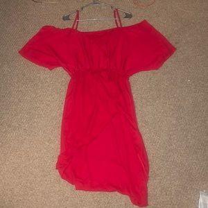 Red sun dress size Medium/Large